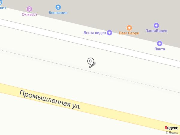 Beerберри на карте Краснодара