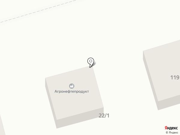 Кубаньгеология на карте Новотитаровской