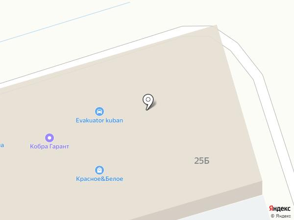 Пятёрочка на карте Новотитаровской