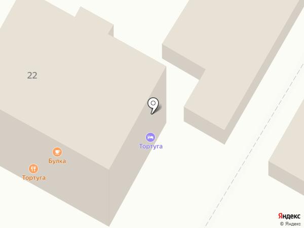 Tortuga на карте Небуга