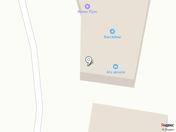 ОптимРУС на карте Краснодара