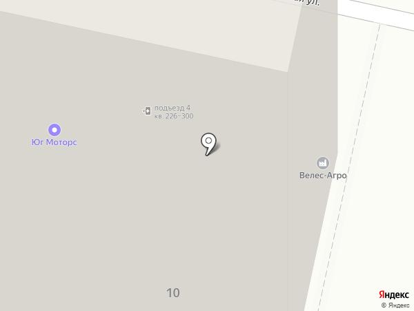 APICO на карте Краснодара