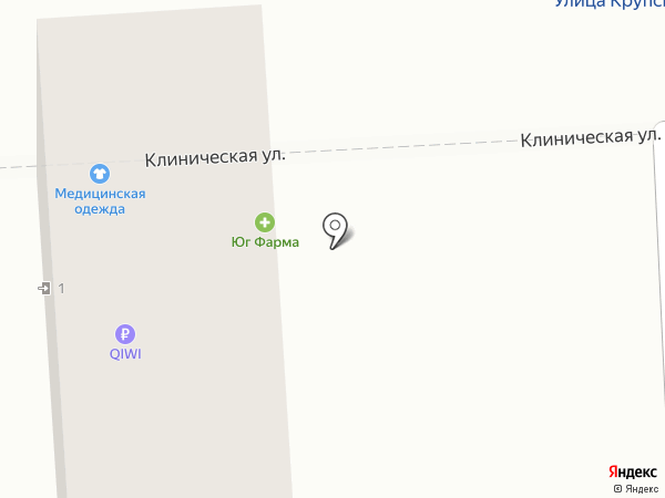 Все для всех на карте Краснодара
