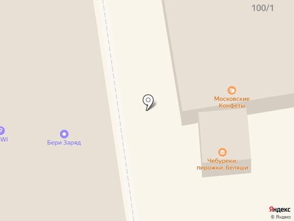 Магазин конфет на карте Краснодара