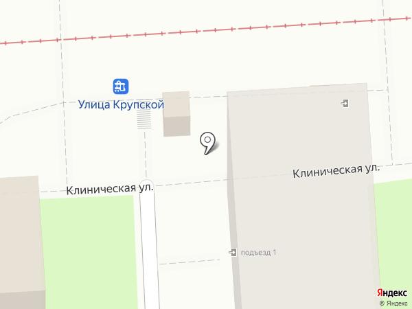 Роспечать на карте Краснодара