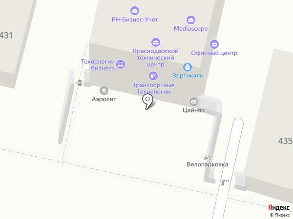 Eurosan на карте Краснодара