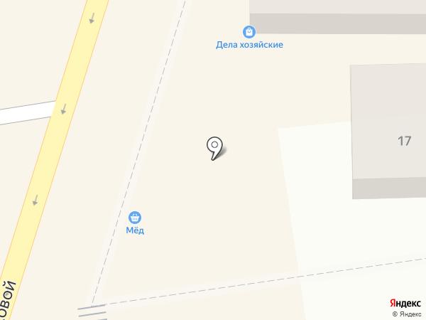 Кудряшка на карте Краснодара
