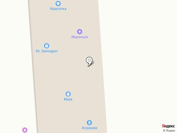 Плюшка на карте Новотитаровской