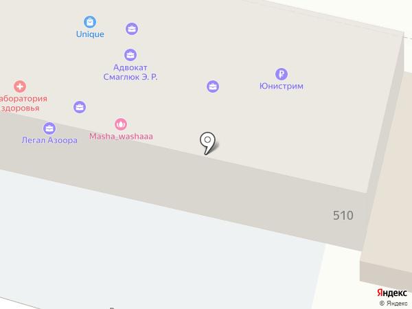КБ Анелик Ру на карте Краснодара