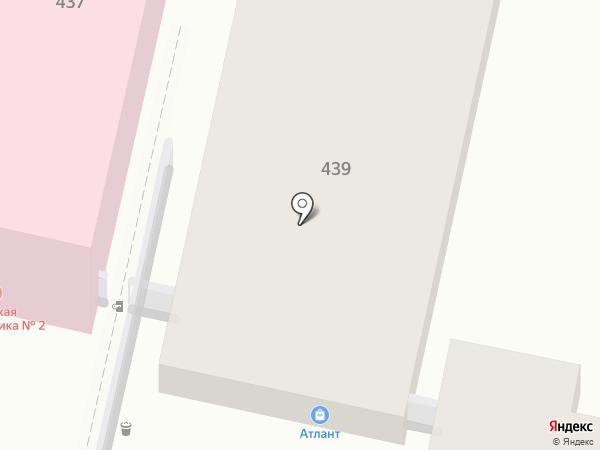 Клен на карте Краснодара