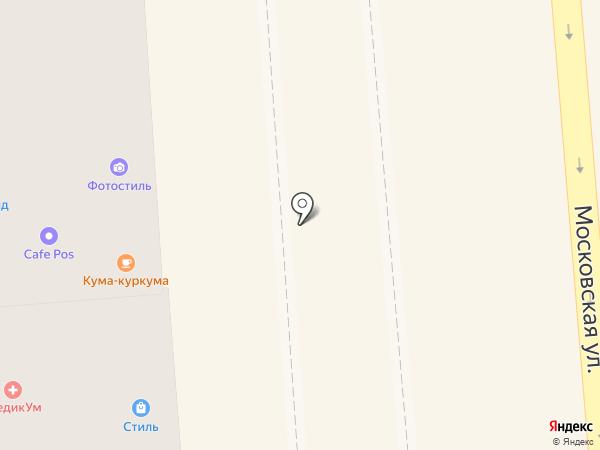 Мое солнышко на карте Краснодара