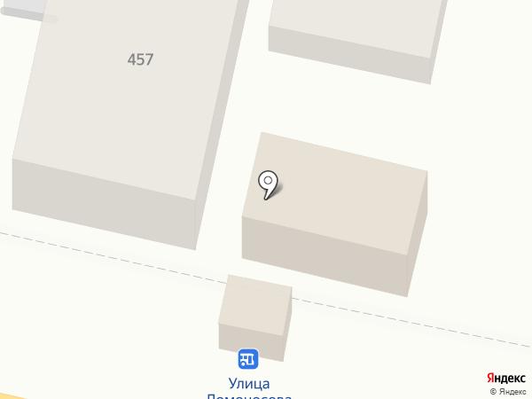Метёлка на карте Краснодара