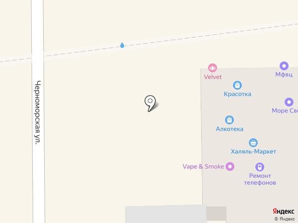 Юнона на карте Краснодара