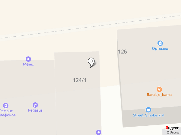 Кладовка на карте Краснодара