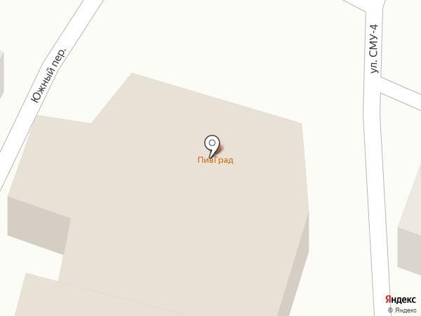 ПивГрад на карте Небуга