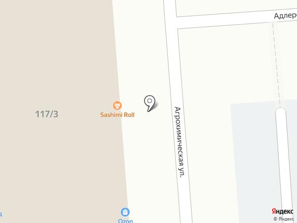 Бастонъ на карте Краснодара