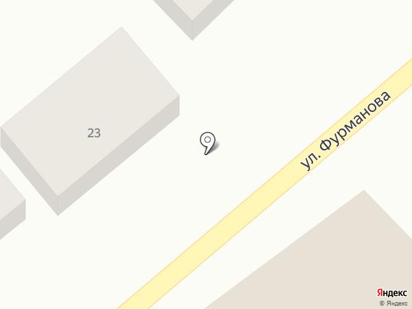 Служба аварийных комиссаров на карте Краснодара