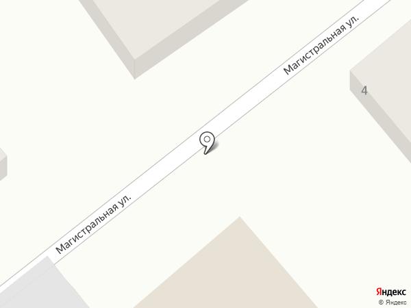 Автоцентр на карте Краснодара