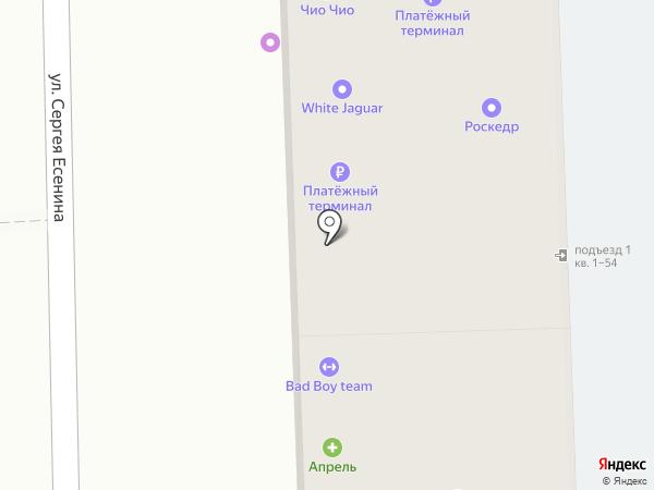 Фермерский дворик на карте Краснодара