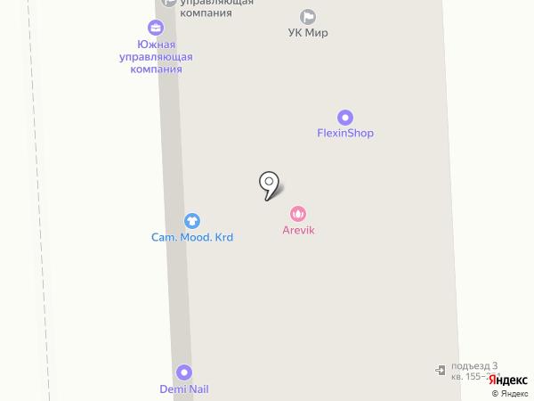 Чудо-печка на карте Краснодара