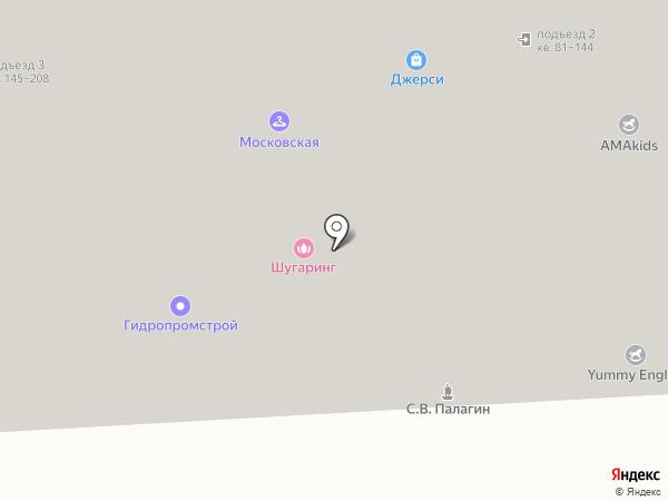 Центр Юг на карте Краснодара