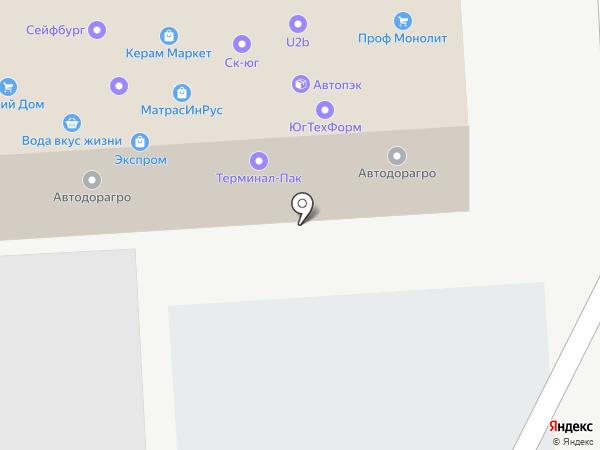 КС на карте Краснодара