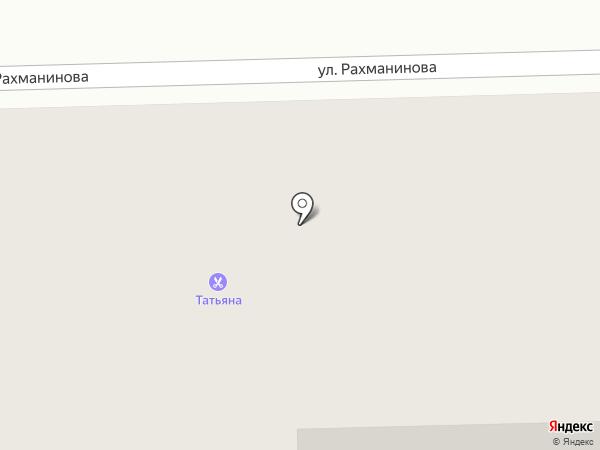 Магазин фруктов и овощей на карте Краснодара