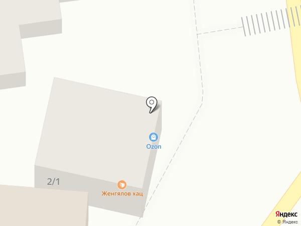 Дымок на карте Краснодара