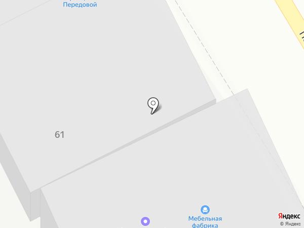 ГАЗАВТОСЕРВИС на карте Краснодара