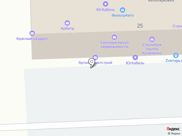 Di Медиа на карте Краснодара