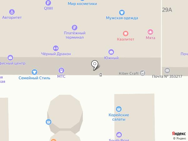 СтройМаг на карте Южного