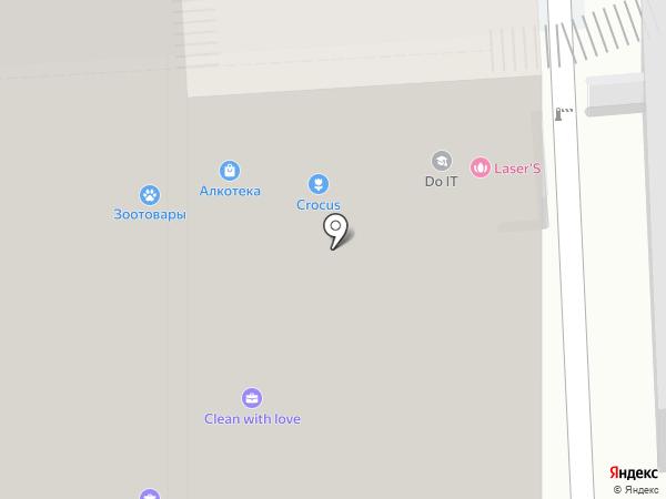 Лик и Арт на карте Краснодара