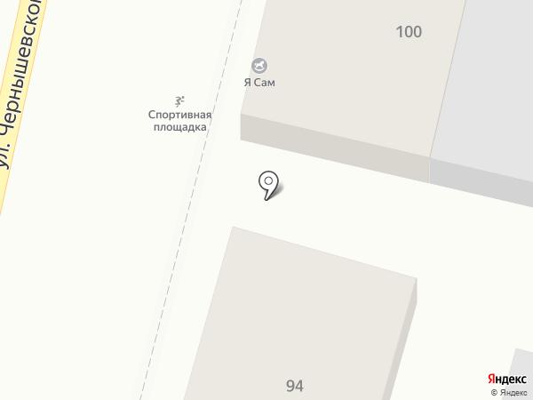 Развивайка на карте Краснодара