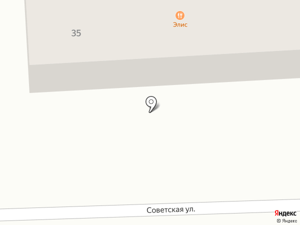 Элис на карте Южного