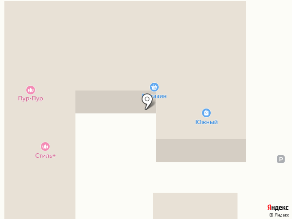 Бодрисар на карте Южного