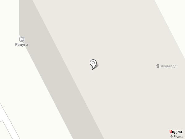 Радуга, ТСЖ на карте Семилуков