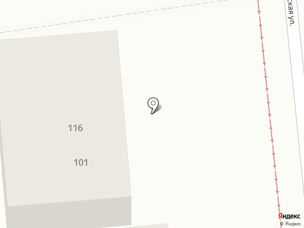 Данилов Хлеб на карте Краснодара