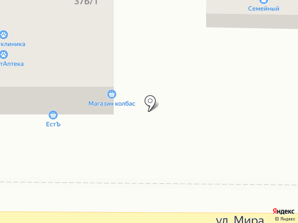 ЮгВетКлиника на карте Южного