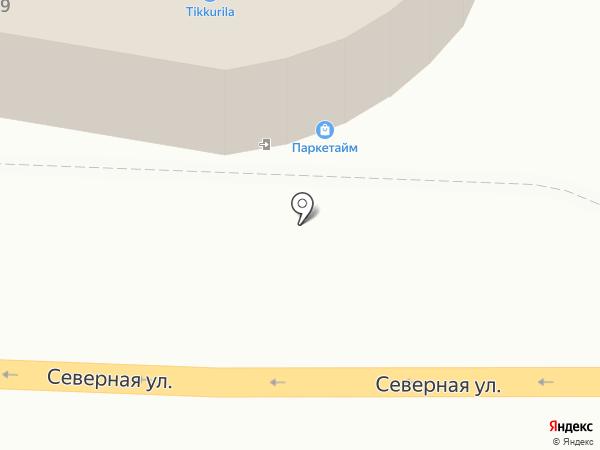 Евростиль на карте Краснодара