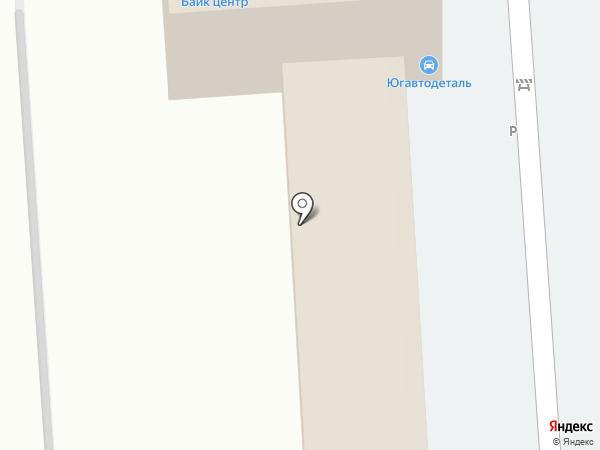 Автомойка самообслуживания на карте Краснодара