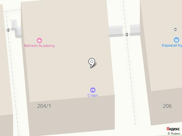 Refresh Academy на карте Краснодара