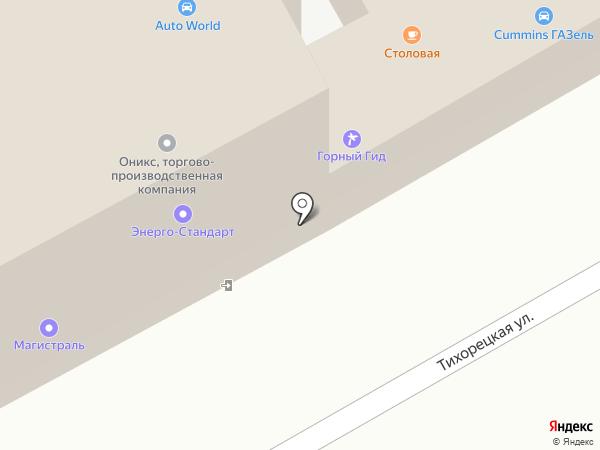 Электро на карте Краснодара