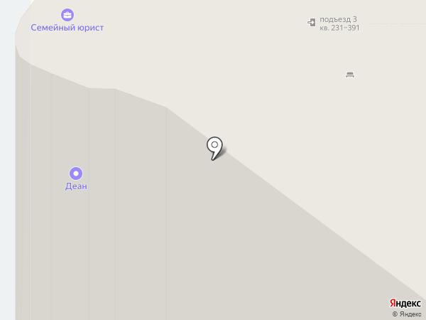 Кружка на карте Краснодара