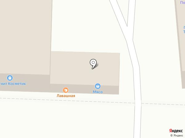 Цветочный магазин на карте Краснодара