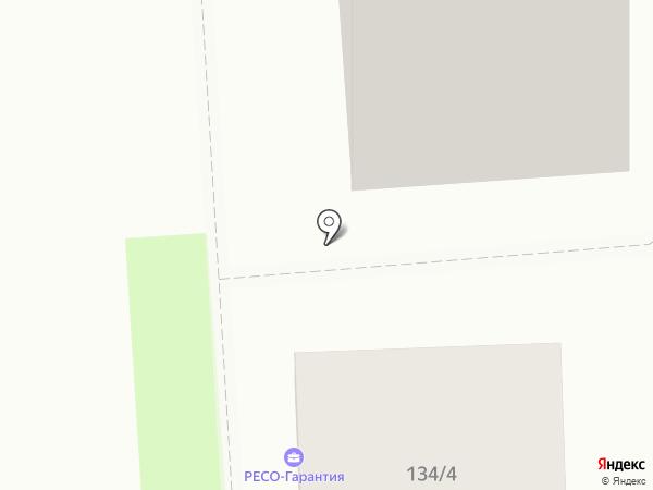 Greenline на карте Краснодара