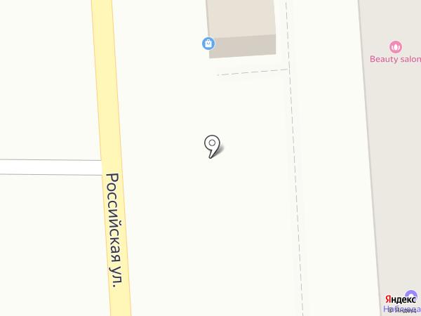 Шашлычная на Российской на карте Краснодара