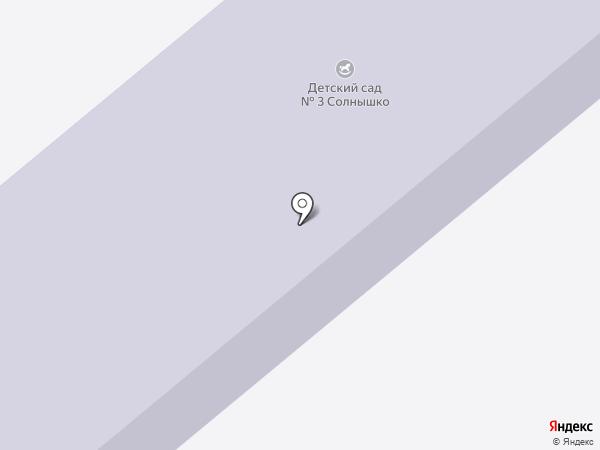 Детский сад №3 на карте Семилуков
