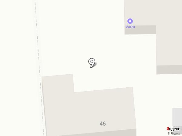 Русский салют на карте Краснодара