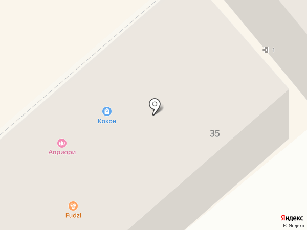 Кокон на карте Семилуков