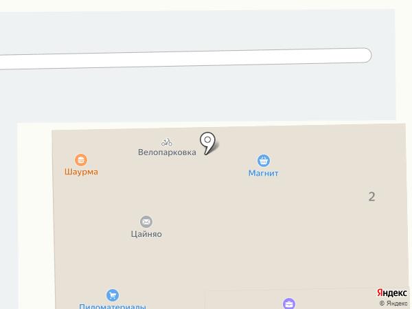 Закусочная на карте Краснодара